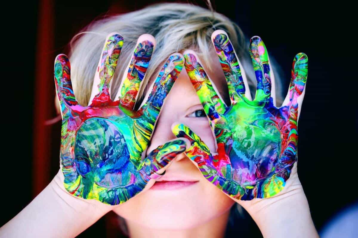 Child Care Subsidy Hand Paint